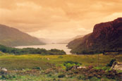 Loch Maree from the viewpoint at Tollaidh, Wester Ross, Scoltand